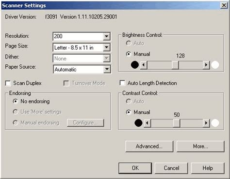 How To Put A Capture On A Config Sentry Mba by Scanner Settings Screen
