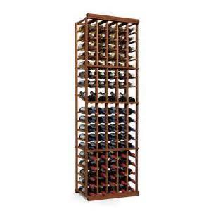 Wine Cellar Cooling Units Reviews - wine enthusiast n finity 90 bottle dark walnut floor wine rack 618 51 05 the home depot