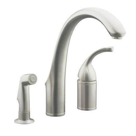 single control kitchen faucet single handle kitchen kohler k 10430 vs vibrant stainless forte single control