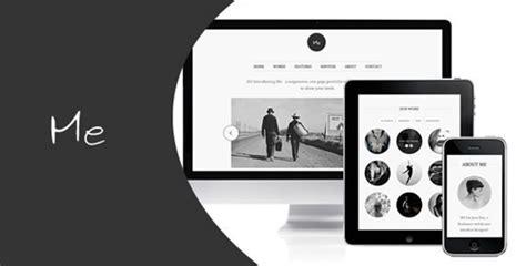 free minimal html template 30 free premium portfolio html website templates