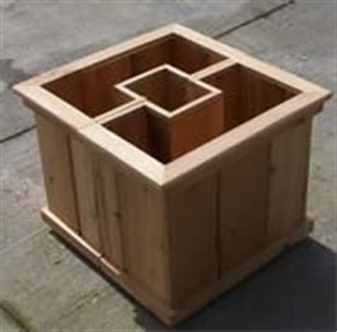 Wrap Around Planter by Bench Set Planters And Benches On