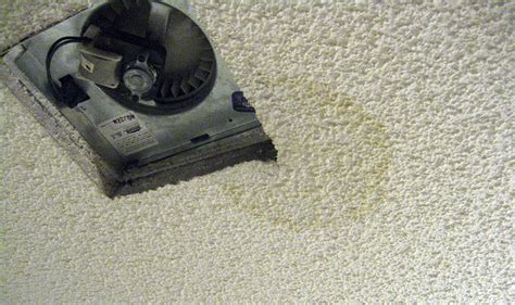 Bathroom Exhaust Fan Leaking Water What That Water Stain Is Trying To Tell You