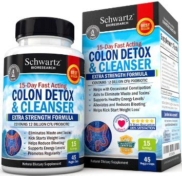 Detox Strength Reviews by Schwartz Colon Detox Cleanser Strength Formula