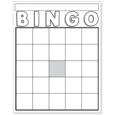 Blank Bingo Cards White Hyg87130 Game Supplies Pinterest Bingo Bingo Cards And Cards Board Card Template