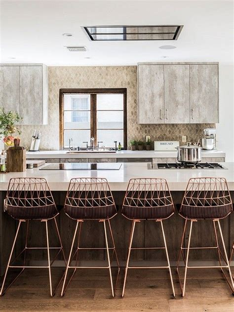 Copper Wire Bar Stools by Best 20 Copper Bar Stools Ideas On Copper