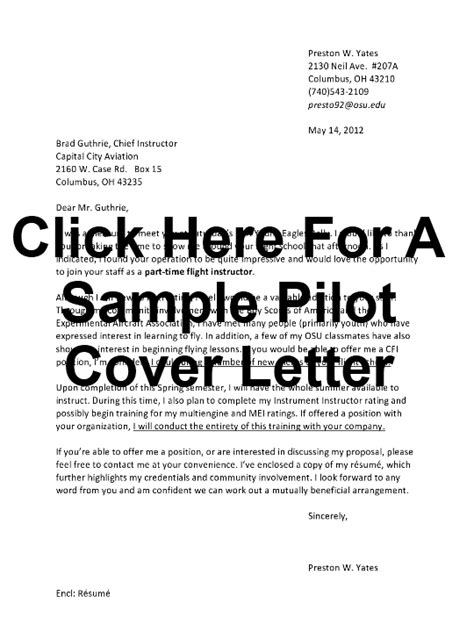 Pilot Resume Sles Cover Letter Airployment Page 2 Just Another Site