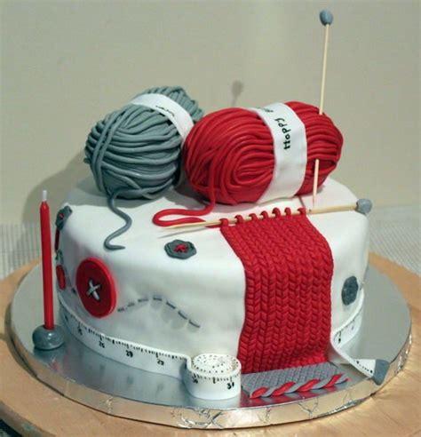 knitting cake knitting lover cake theme cakes
