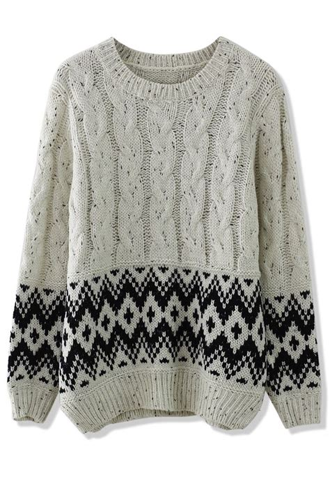 zig zag cable pattern cable knit zig zag sweater fall winter wear pinterest