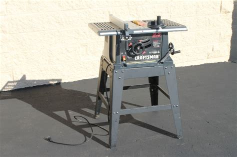 craftsman 137 table table saw by craftsman fall estate and consignment