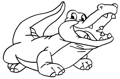 coloring sheet of alligator free coloring pages crocodiles
