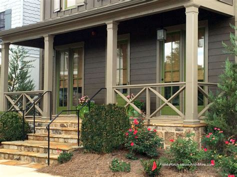front porch banisters front porch railing ideas materials and more