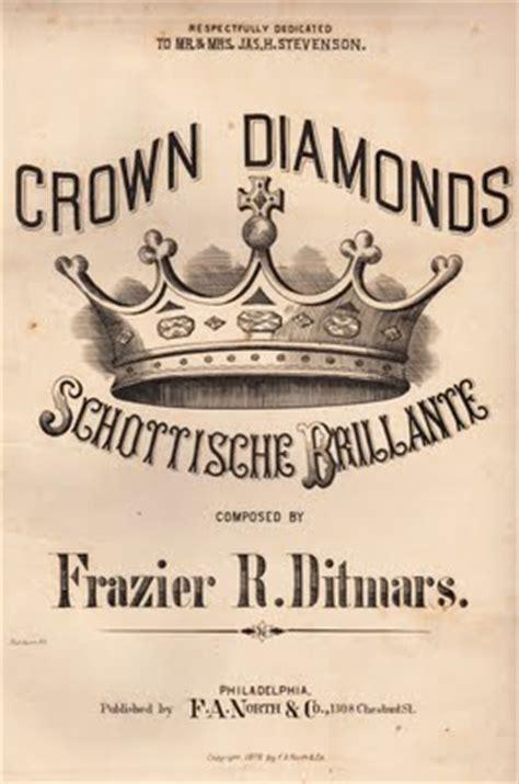 ephemera clip art crown sheet   graphics