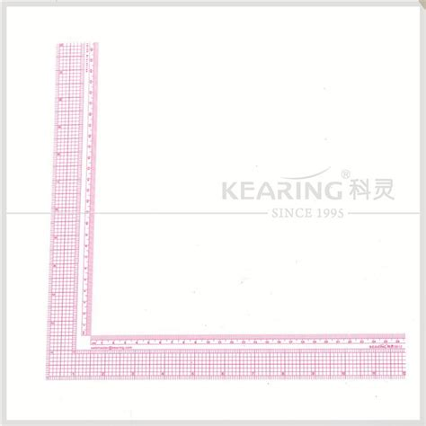 pattern making degree kearing brand 12 quot 26cm l square garment grading ruler