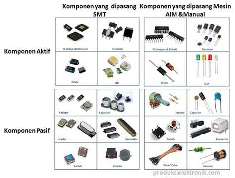 pengenalan komponen komponen elektronika dan pengelompokannya