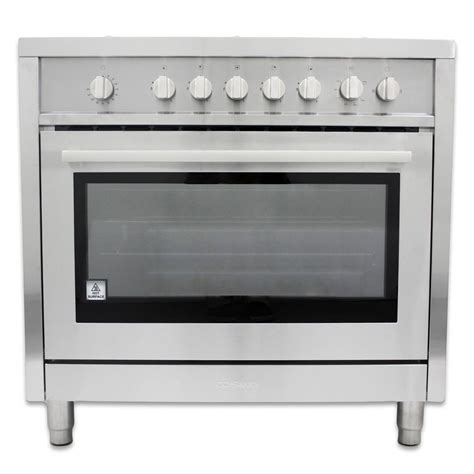 Oven Gas Cosmos 36 in gas range with 5 italian made burners and rotisserie