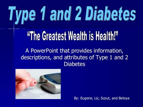 Diabetes Powerpoint Diabetes Ppt Templates Free