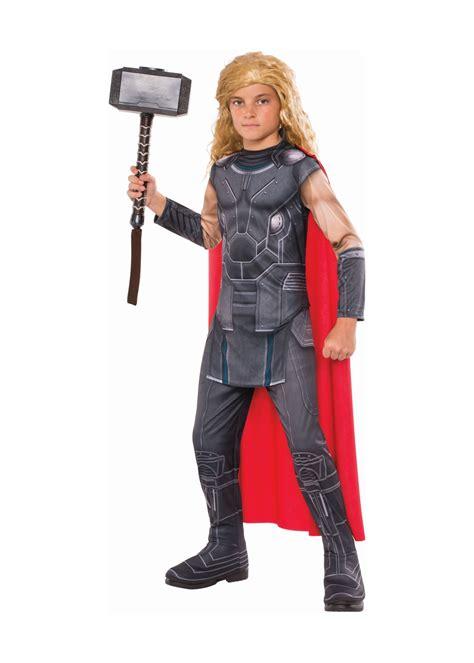 thor ragnarok boys costume cosplay costumes