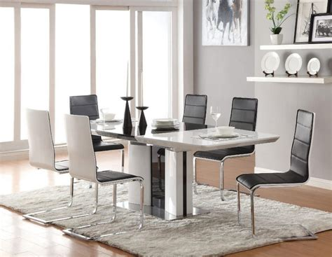 furniture dining room oval dining table and black chairs furniture dining room contemporary oval table for modern
