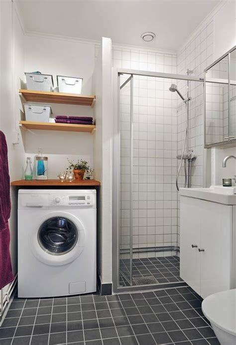 como decorar  bano pequeno  lavanderia integrada decoracionin