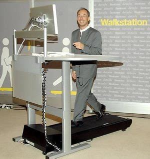 Walk While You Work With The Levine Treadmill Workstation by Burn While You Earn Desk Treadmill Keeps You Walking At