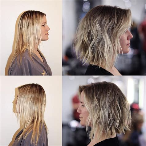 before and after haircuts for thin hair buddy porter on instagram before and after fine hair