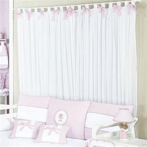 cortina de bebe cortina para quarto enxoval beb 234 menina princesa branco 2
