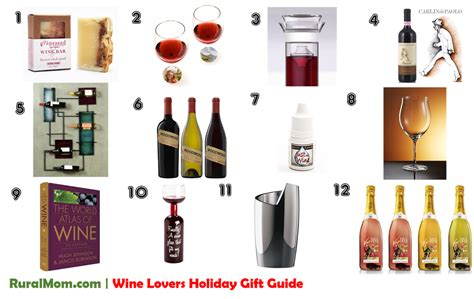 annual wine lovers holiday gift guide 2014 rural mom