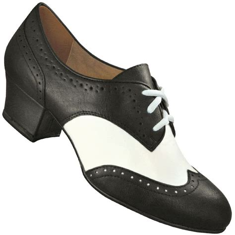 swing shoes aris allen s black and white spectator oxford