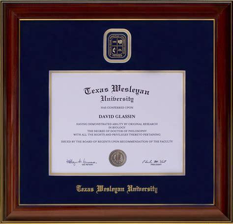 touro university designer diploma frame wordyisms texas wesleyan designer diploma frame wordyisms