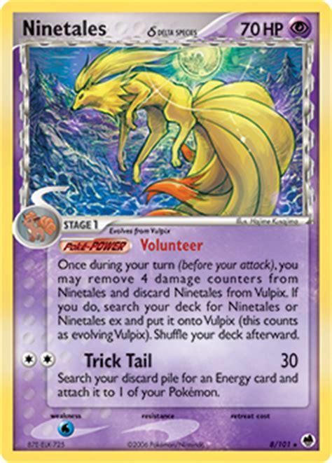 Gardevoir Delta Speciespokemon Trading Card Gametcgkartu ninetales pok 233 dex