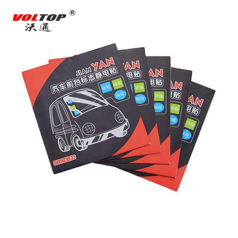 Automotive Electrostatic Stickers 3pcs Stiker Mobil voltop annual post car sticker auto window signal clear cling static inspection stickers
