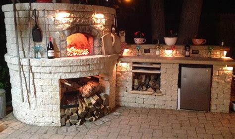 Jefferson Pizza Kitchen by Li Outdoor Brick Oven Port Jefferson Backyard Kitchen