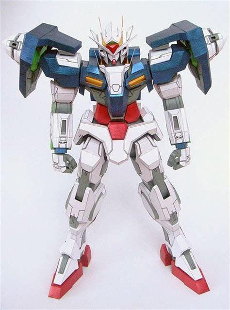 Gundam Papercraft Pdf - gn 0000 00 gundam papercraft paperkraft net free