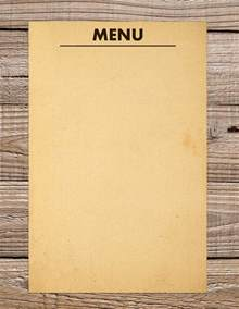 Menu Template by 30 Blank Menu Templates Free Sle Exle Format