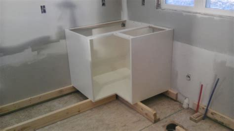 installing kitchen base cabinets how to install base kitchen cabinets alkamedia