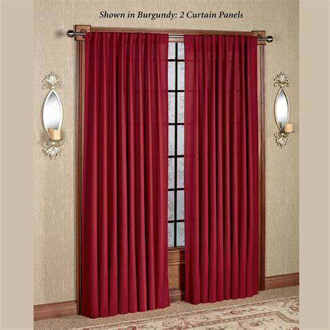 tabbed curtains glasgow back tab curtain panels