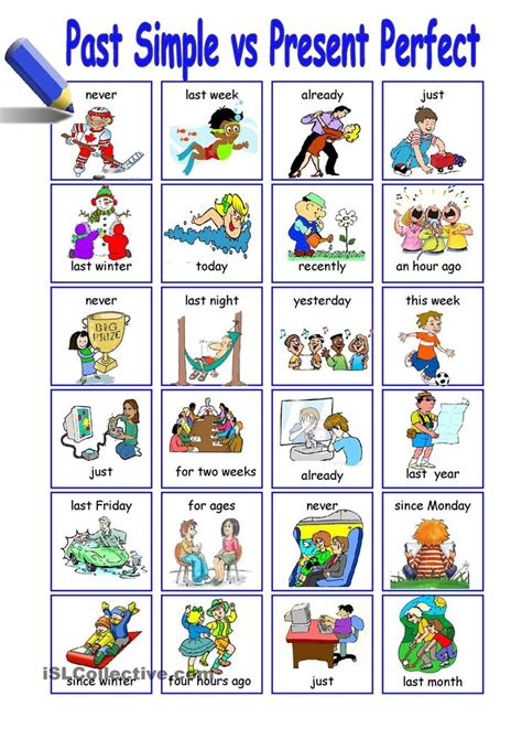 previous 7 of 8 next images frompo past simple vs present perfect esl speaking activities