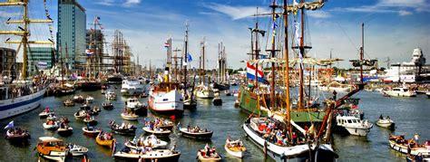 boten in amsterdam sail amsterdam boot huren rederij de nederlanden