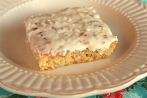 easy delicious pineapple sheet cake recipe just a pinch
