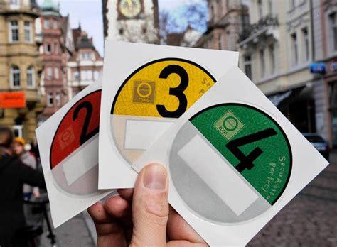 Sticker Drucken Karlsruhe by Dauerrot F 252 R Rote Umweltplakette S 252 Dwest Badische Zeitung