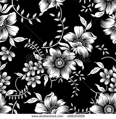 Wallpaper Stiker Motif Black And Blue Batik Ukuran 45 Cm X 10 Meter flower vector stock images royalty free images vectors
