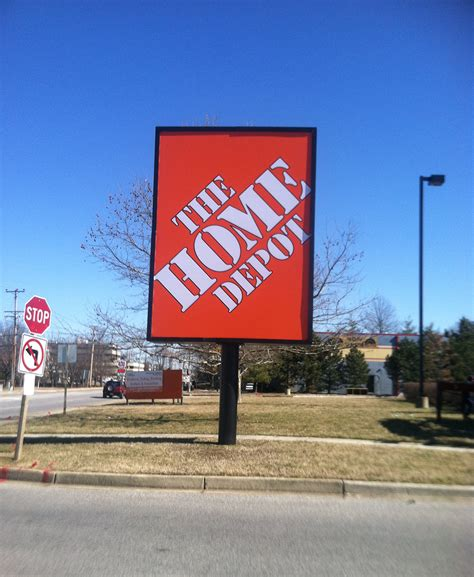 home depot ark signs