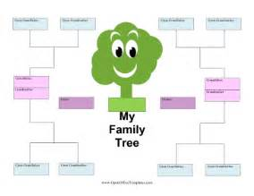 family tree template family tree blank template for teachers