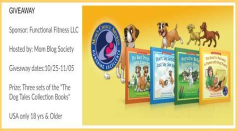 Dog Giveaways - giveaway three sets of the quot the dog tales collection books quot do not pet