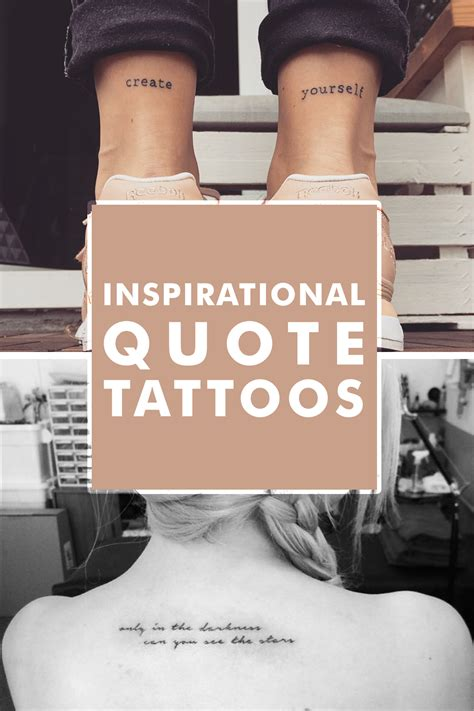 small inspirational quotes for tattoos tattoos 11 small but powerful inspirational quote