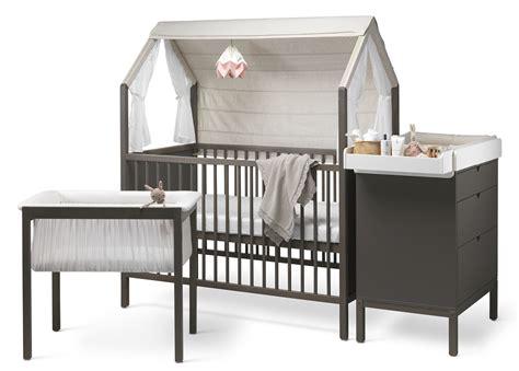 Stokke Baby Crib by Maine Cloth Stokke Home Crib Hazy Gray
