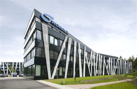 modern office building nordex forum headquarters at