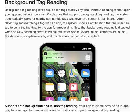 consomac les iphone xs xr et la lecture des tags nfc