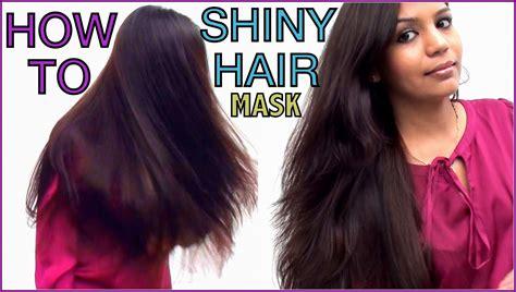 how to get shiny healthy hair at home banana hair
