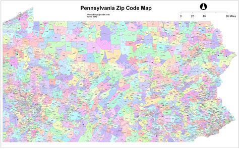 western pa zip code map  travel information